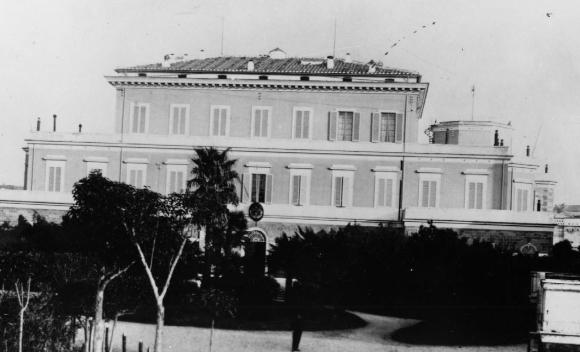 המכון לפיזיקה של אוניברסיטת רומא בתחילת שנות ה-30, שנות הזוהר של המחקר הגרעיני של פרמי | מקור: https://webzine.web.cern.ch/7/papers/3/