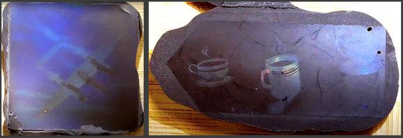 בלי חומרי צבע או חריטה. הולוגרמות מודפסות בשוקולד | מקור: סרטון הדרכה של ערוץ Applied Science
