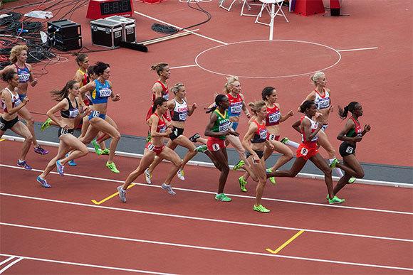 ריצת 1500 מטר, נשים | צילום: Tom Page, Flickr