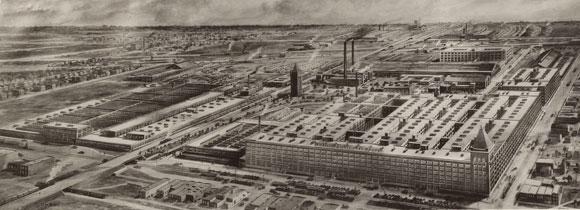 מפעל הות'ורן באילינוי בערך ב-1925 | מקור: ויקיפדיה, נחלת הכלל