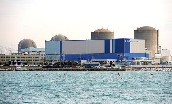 תחנת הכוח הגרעינית בקורי שבקוריאה הדרומית, ובה ארבעה כורים פעילים | צילום: Korea Kori NPP, ויקיפדיה