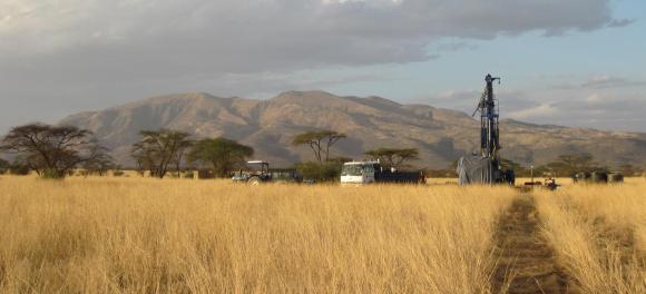 אתר הקידוח בקניה שבעזרתו תיעדו החוקרים את ההיסטוריה של האזור | מקור: Human Origins Program, Smithsonian