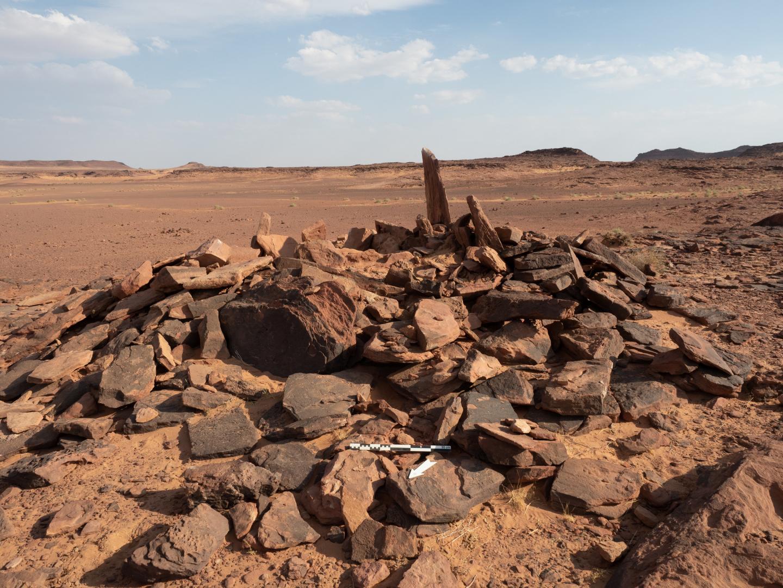 אתר הקבורה העתיק בו נמצאו השרידים, קרדיט: Royal Commission of Al-Ula