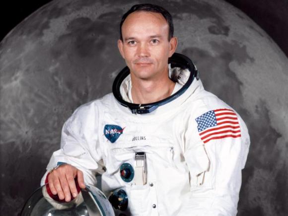 משימות המחקר אינן בחירה אלא חובה. מייקל קולינס בצילום הרשמי לקראת משימת אפולו 11 | צילום: NASA