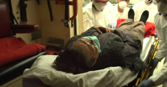 חולה. תמונה מתוך הסרט