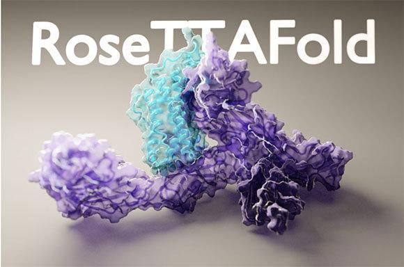 מבנים של 4,500 חלבונים בחודש: דף הבית של מערכת RoseTTAfold והאתר הנגיש לציבור   מקור: RoseTTAfold