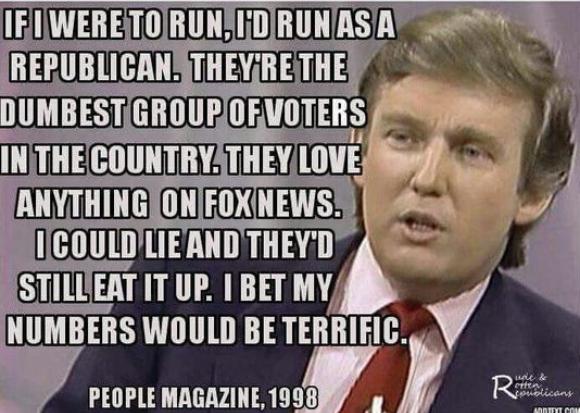 """המם שהופץ לפני הבחירות לנשיאות ארה""""ב"""