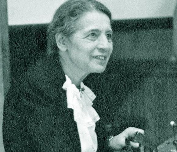 התעלמו ממנה בפרס נובל, אך היא זכתה להנצחה בטבלה המחזורית. ליזה מייטנר | מקור:  Materialscientist, ויקיפדיה