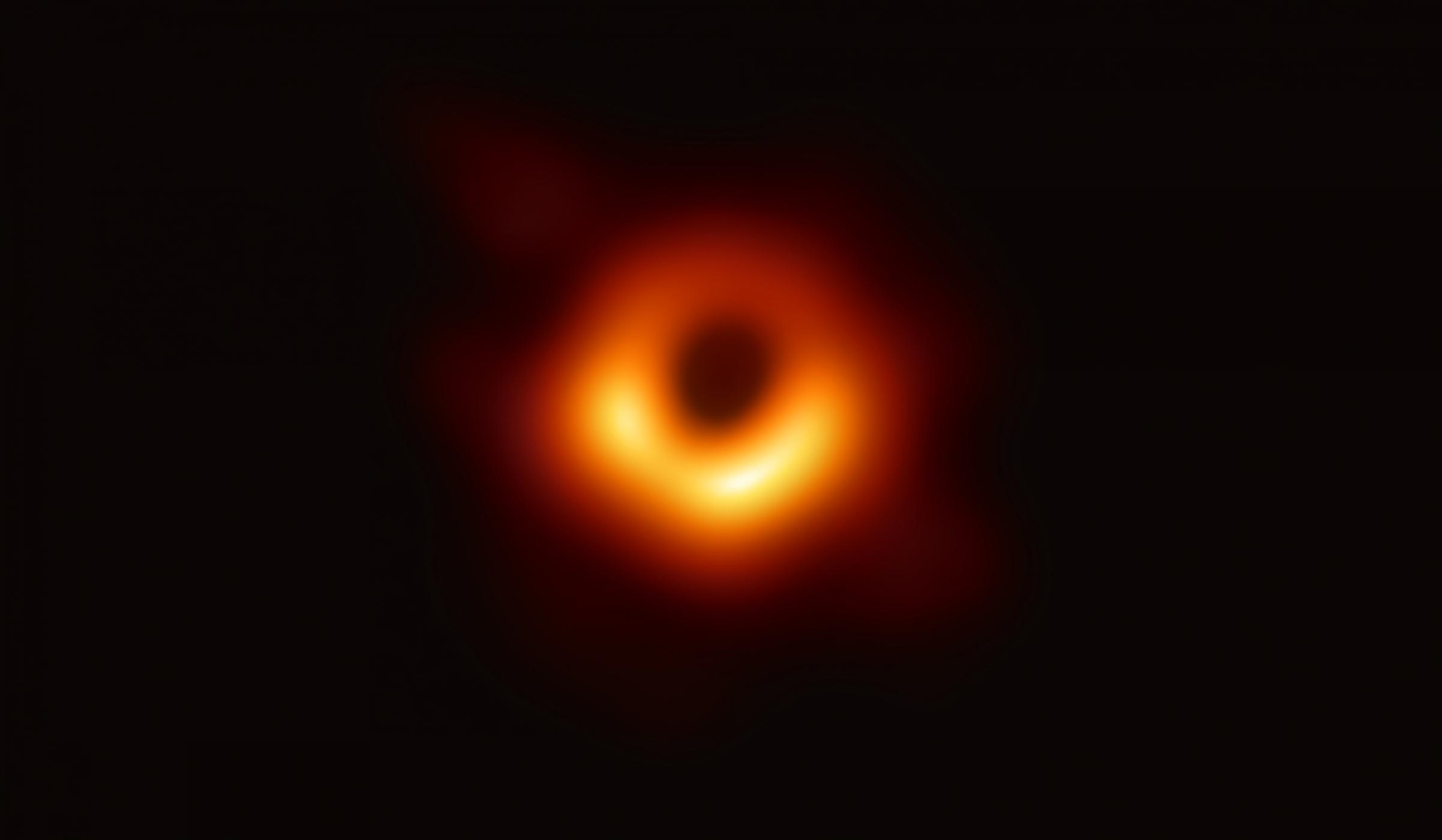 צילום של חור שחור | EHT NSF