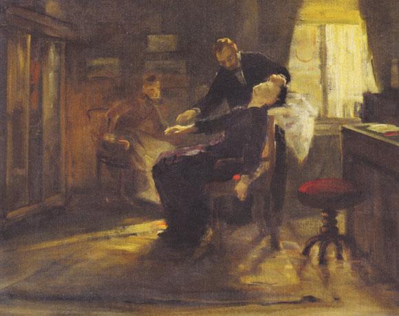 פון שרנק-נוצינג מבצע היפנוזה, 1885 | ויקיפדיה, Albert von Keller