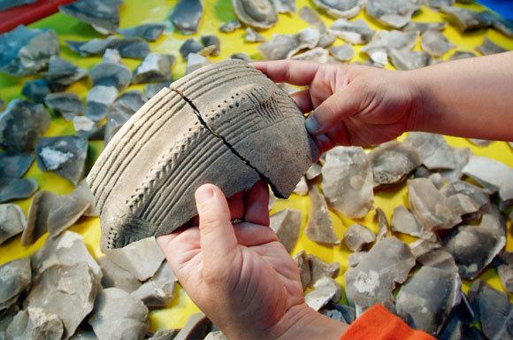 שברי כד מתקופת האבן בספרד | Marco Ansaloni, Look at Sciences, SPL
