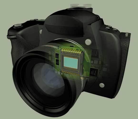 מצלמה דיגיטלית עם חיישן CCD | איור: PAUL WOOTTON / SCIENCE PHOTO LIBRARY