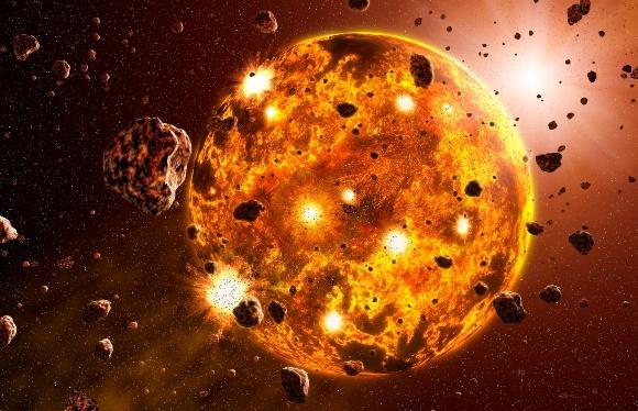 תהליך היווצרות של כוכב לכת | איור: TAKE 27 LTD / SCIENCE PHOTO LIBRARY