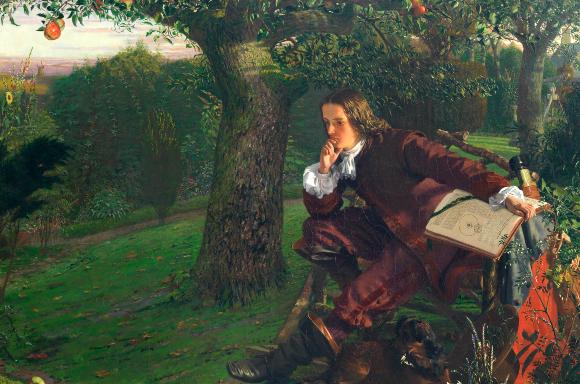 תחת עץ תפוח כמובן | מקור: ROYAL INSTITUTION OF GREAT BRITAIN / SCIENCE PHOTO LIBRARY
