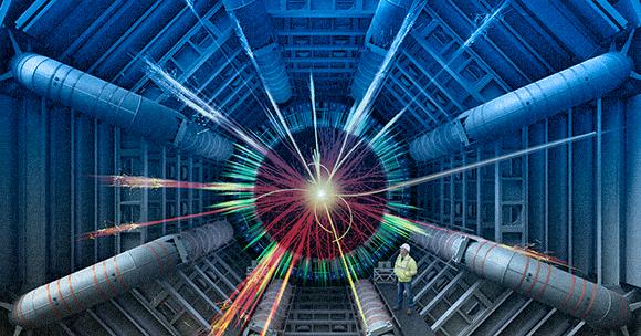 Simulación de la creación de un microagujero negro en un acelerador de partículas | Fotografía: Science Photo Libr