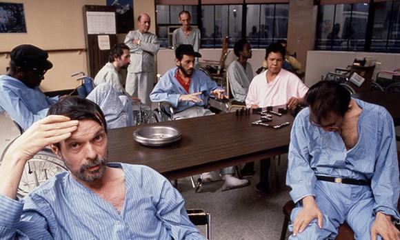 חולים במחלקת איידס בבית חולים בניו-יורק, 1989 | Hank Morgan, Science Photo Library