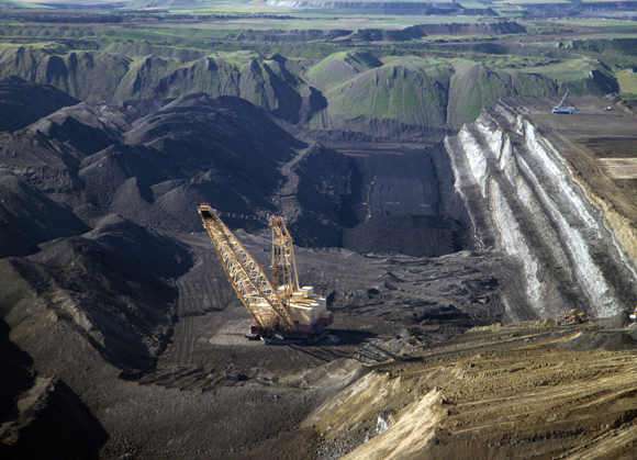 כריית פחם בוויומינג, ארצות הברית | David R. Frazier, SPL