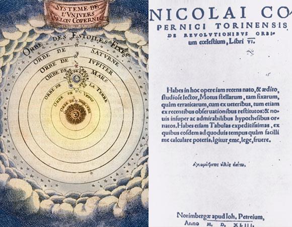 הספר שזכה להתעלמות בזמנו נחשב כיום לאחד החשובים בהיסטוריה של המדע. על הסיבובים | מקור: Science Photo Library