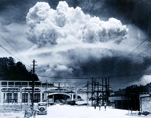 הפיצוץ האטומי מעל נגסאקי | SPL