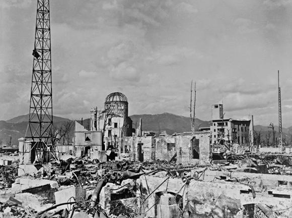 ההרס בהירושימה לאחר ההפצצה | SPL