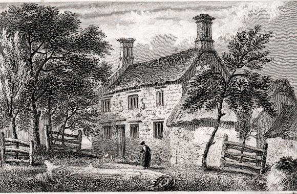 הבית שבו נולד ניוטון | OXFORD SCIENCE ARCHIVE / HERITAGE IMAGES / SCIENCE PHOTO LIBRARY