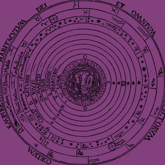 תרשים של המודל הגיאוצנטרי ובו השמש (SOLIS) היא אחר הגופים החגים סביב הארץ | מקור: Science Photo Library