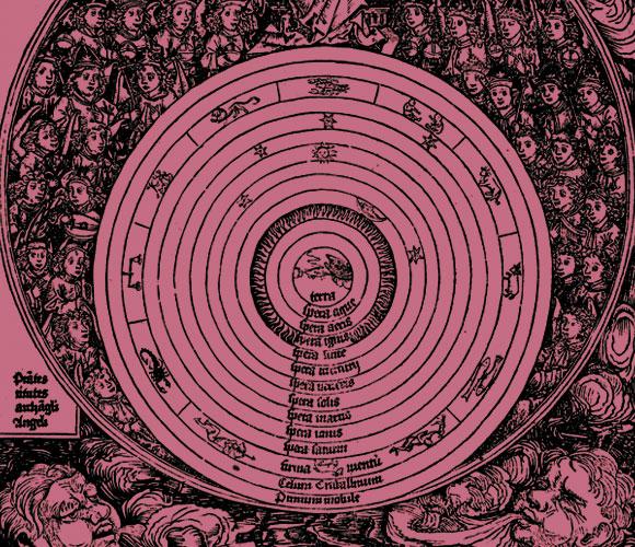התפיסה הרווחת הייתה שהארץ היא מרכז היקום. איור של המודל הגיאוצנטרי | מקור: Science Photo Library