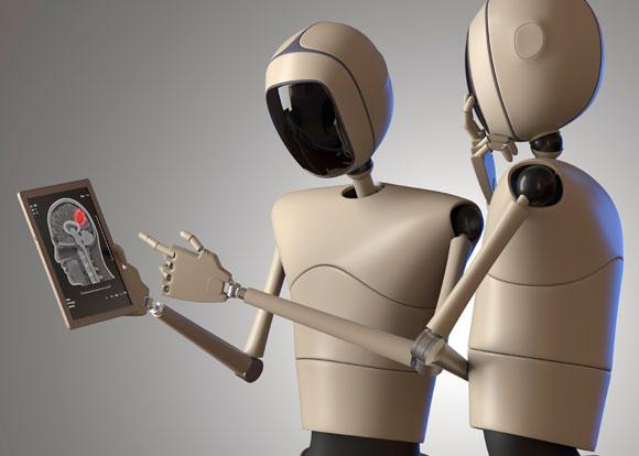 רובוטים מתייעצים