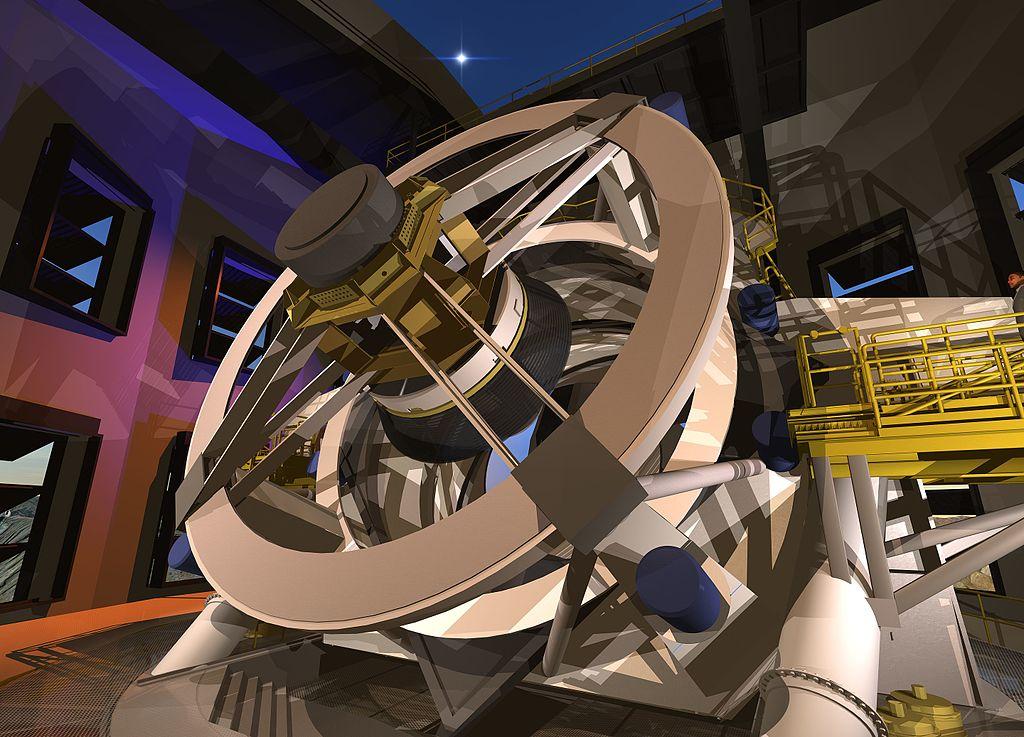 אילוסטרציה של הטלסקופ החדש | ויקיפדיה