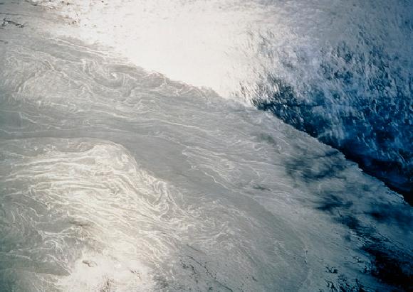 זרם הגולף בצילום מהחלל קרדיט: NASA Science photo library