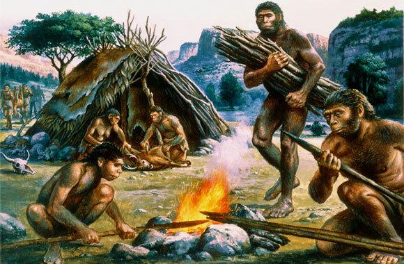מדענים ואנתרופולוגים משערים שמינים קדומים של האדם החלו להשתמש באש לפני כ-1.8 מיליון שנה CHRISTIAN JEGOU PUBLIPHOTO DIFFUSION / SCIENCE PHOTO LIBRARY