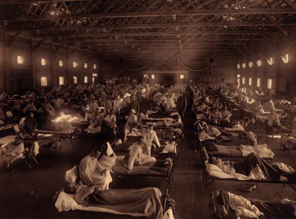 בית חולים שדה בקנזס, 1919