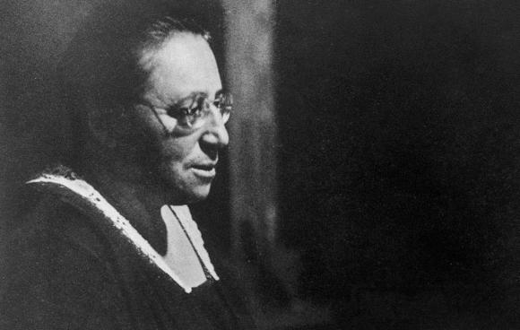"""""""הגאון המתמטי הגדול ביותר"""". נתר בסביבות שנת 1930   מקור: Konrad Jacobs, Wikipedia"""