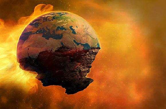 סוף העולם | איור: Victor Habbick Visions / Science Photo Library