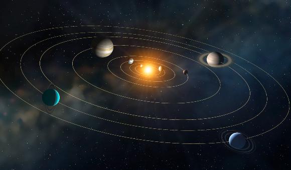הסבר מדעי ראשון למסלוליהם של כוכבי הלכת. מסלולי הפלנטות במערכת השמש | איור: MARK GARLICK / SCIENCE PHOTO LIBRARY