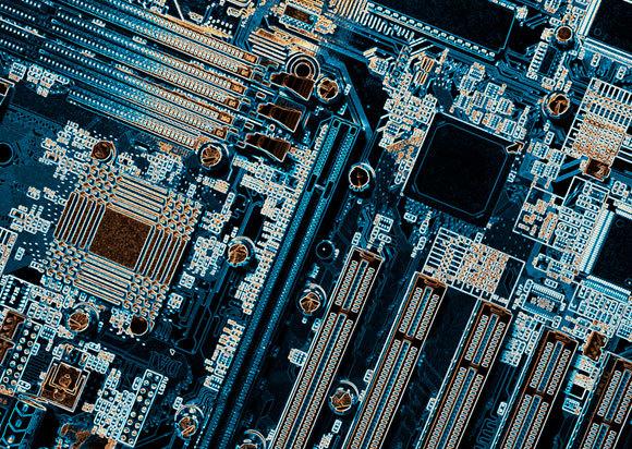 לוח אם של מחשב עם טרנזיסטורים | Christian Lagerek, SPL