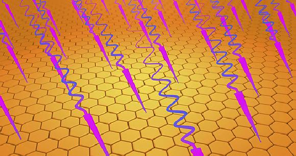 קרני אור על-סגול פוגעים בתאי האור | איור: CHRISTOPH BURGSTEDT / SCIENCE PHOTO LIBRARY