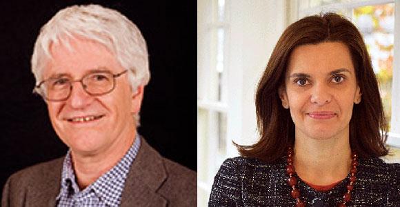 מחקרים בעייתיים. גיוטה מירטואו (מימין) וקווין מקונווי | צילומים: World Cancer Research Fund International, Open University
