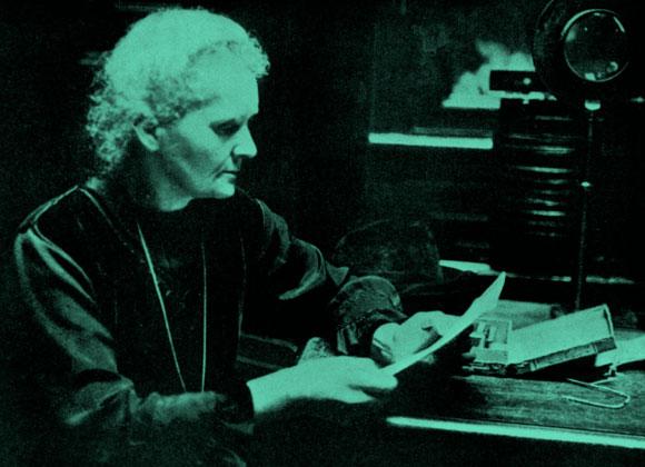 היחידה שקיבלה פרסי נובל בשני תחומים מדעיים. מארי קירי במעבדה | מקור: Science photo Library