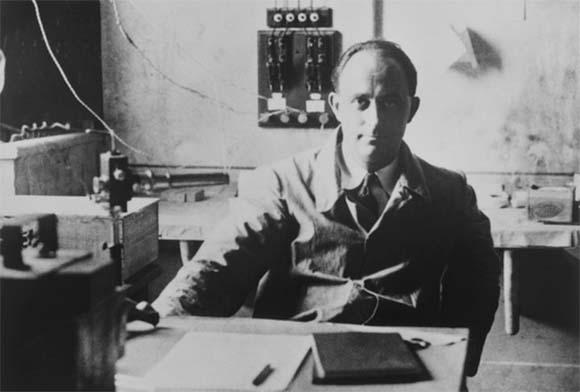 פרמי במעבדת הניסויים באוניברסיטת שיקגו | מקור: ARGONNE NATIONAL LABORATORY / SCIENCE PHOTO LIBRARY