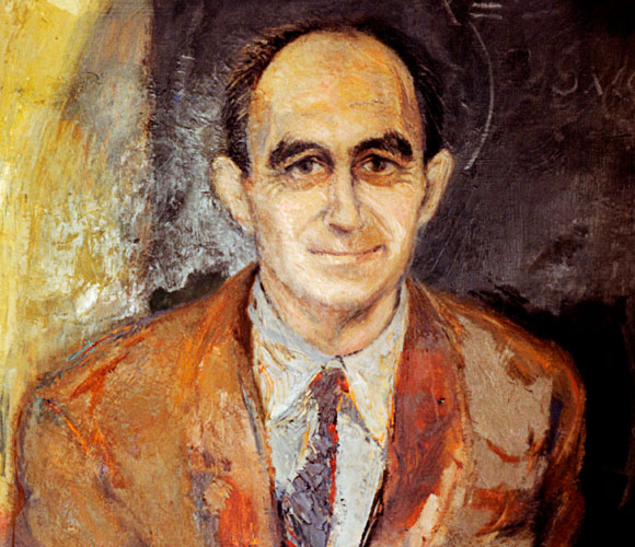But where is everybody? A painting of the Italian physicist Enrico Fermi – Emilio Segrè Visual Archives SPL
