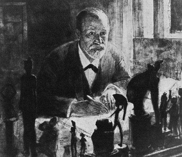 ציור של זיגמונד פרויד | Science Photo Library