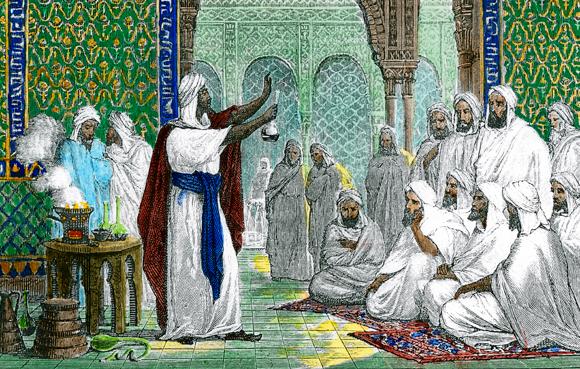 נחשב לאחד מגדולי המדענים בתקופת תור הזהב של האסלאם. קרדיט: SCIENCE PHOTO LIBRARY