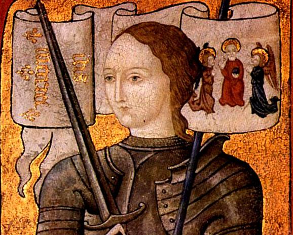 הפכה לסמל של הלאומיות הצרפתית, וגם של הכוח של נשים להנהיג ולהוביל. ד'אן ד'ארק | מקור: ויקיפדיה, נחלת הכלל