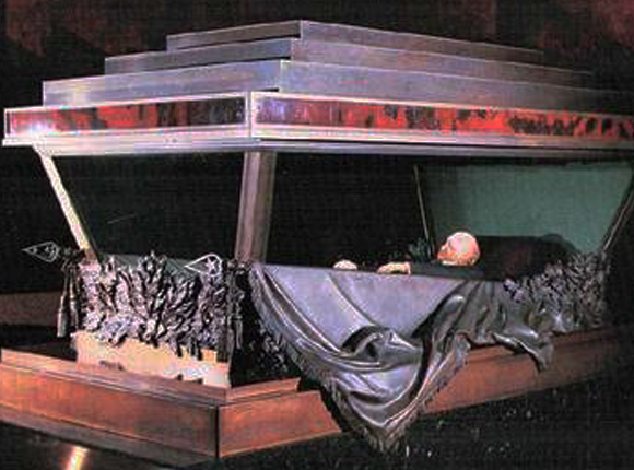 Lenin's preserved body | Lenin's Mausoleum