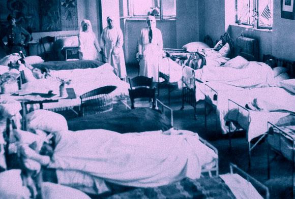 מחלקת טיפוס בבית חולים בפולין | SPL, USA Library of Medicine