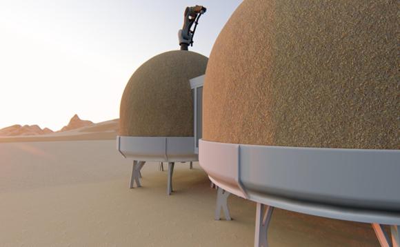 הדמיה: שיקא אדריכלות ועיצוב, החברה לפיתוח מאדים ועמותת D-MARS