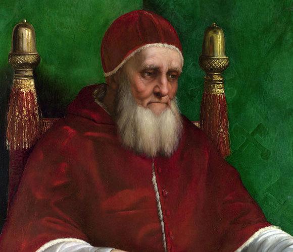 האפיפיור יוליוס השני, ציור של רפאל | National Gallery, London
