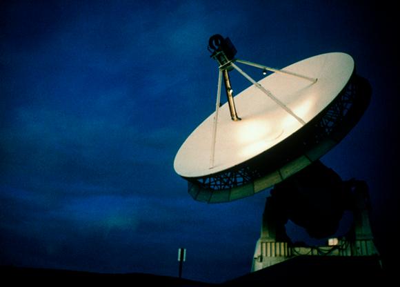 רדיו טלסקופ במדבר מוהאבי