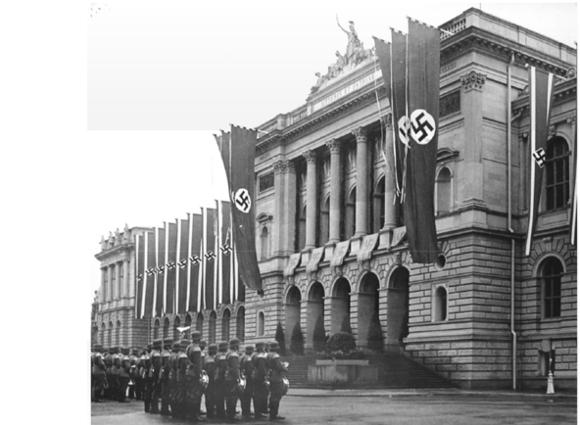 מעשי זוועות. חנוכת האוניברסיטה הנאצית בשטרסבורג, 1941 | מקור: אוניברסיטת שטרסבורג